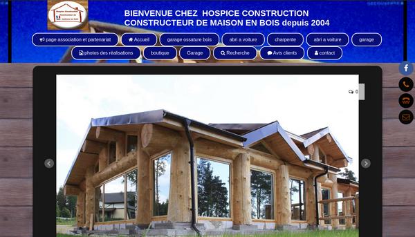 Site de hospiceconstruction : CmonSite
