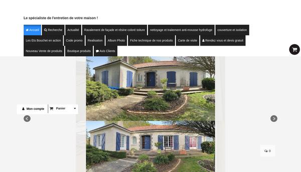 Site de Bouchetpeinture .fr