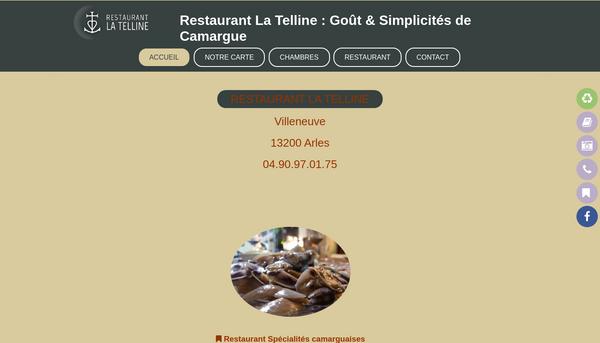 Restaurant La Telline : spécialité produits Camargue
