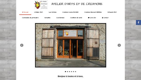 Site de l'Atelier d'arts et de créations