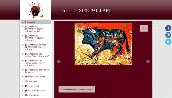 Tixier Paillart  : Artiste Peintre