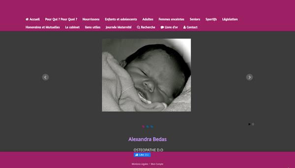 Alexandra Bedas Ostéopathe DO/La bégude de Rochefort/ 10 min d'Avignon