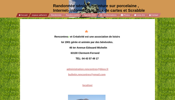 Site Activités Loisirs Sport 63