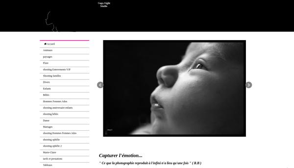 Site de copyright : Photographe