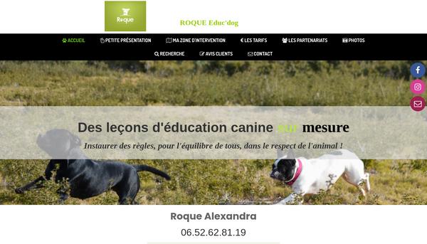 Roque educ'dog