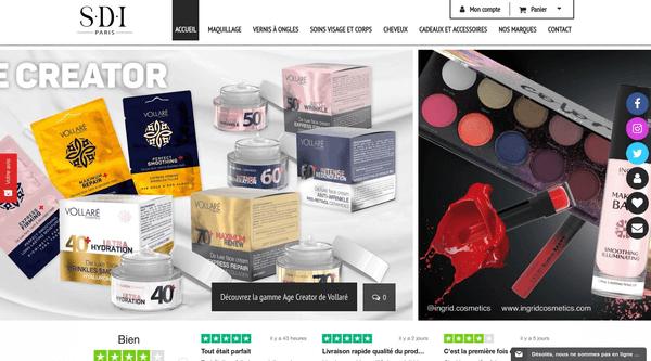 SDI-Paris : maquillage, cosmétiques, soins, toute la beauté chez SDI
