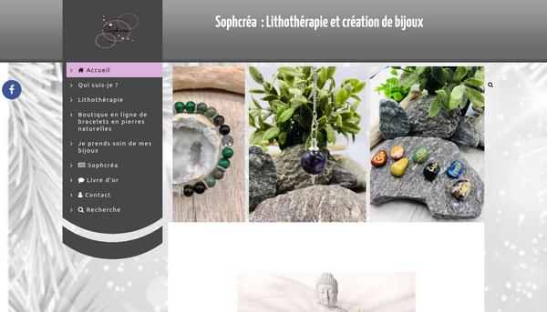 Site de sophcrea : CmonSite