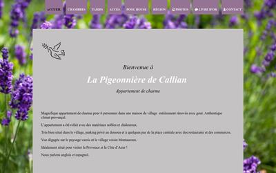 La Pigeonniere de Callian : Appartement de Charme