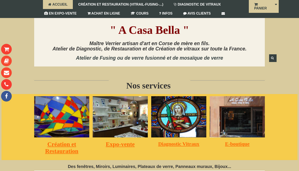 Site  A CASA BELLA
