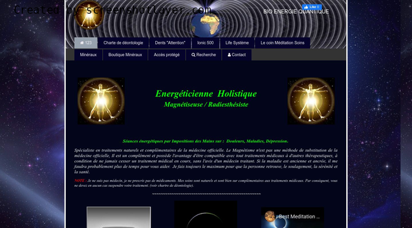 Site de Bio Energie Quantique