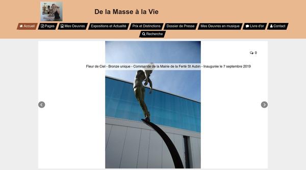 Anne Boisaubert -  Sculptures Terre / Bronze - De la Masse à la Vie
