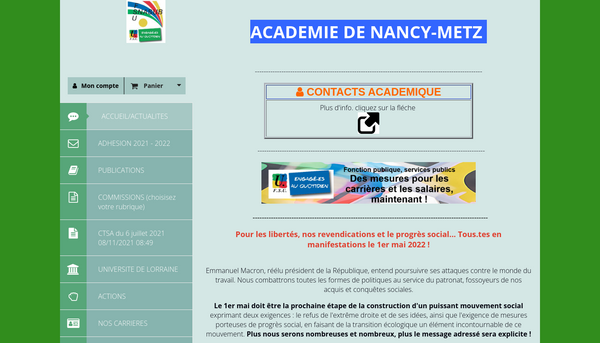 SITE OFFICIEL SNASUB NANCY-METZ