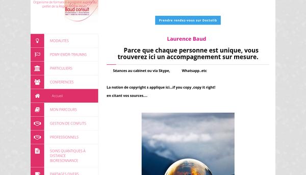 Site de laurence-baud : CmonSite