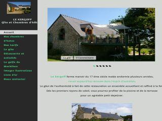 Site internet gitechambresdhotedukergoff.fr