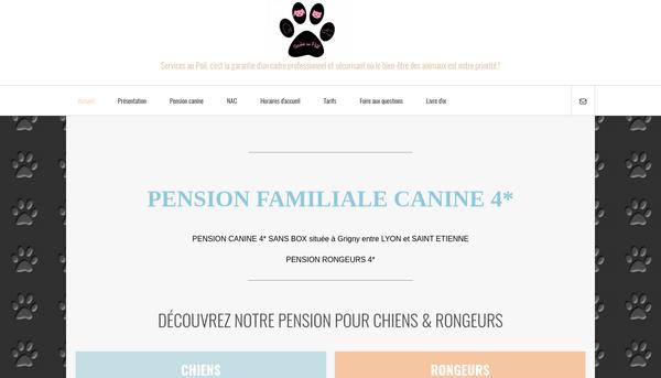 Site de servicesaupoil : Pension familiale canine Rhône