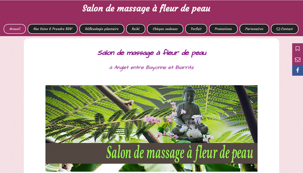 Valerie-modelage.com : Salon de massage à Anglet, Pays Basque.