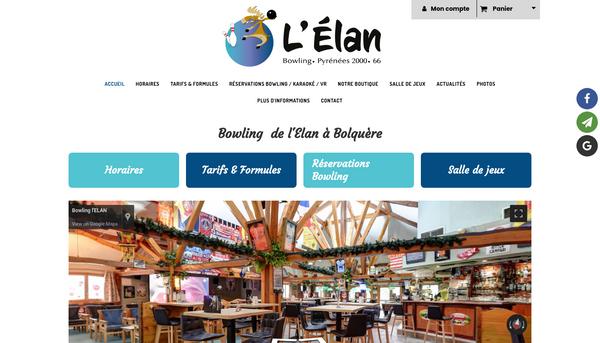Site de www.bowlinglelan.fr