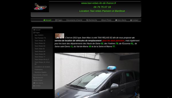 Site de taxi-relais-92 : CmonSite