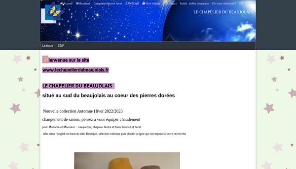 Site internet de vente de Chapeau de cérémonie