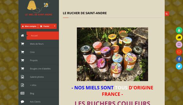 Le miel de St André