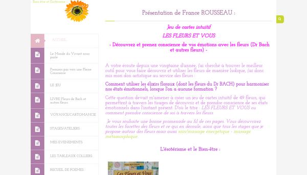 Site de Les fleurs et vous