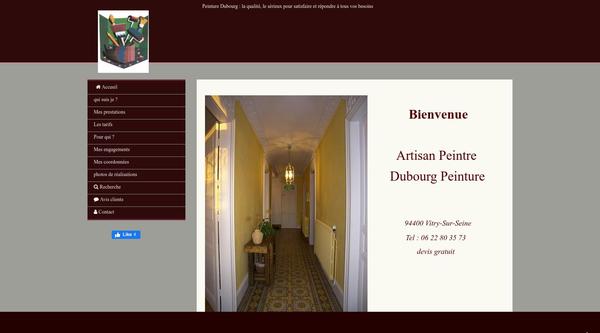 Site de dubourg-peinture-paris : CmonSite