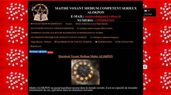Maître Voyant Marabout ALOKPON