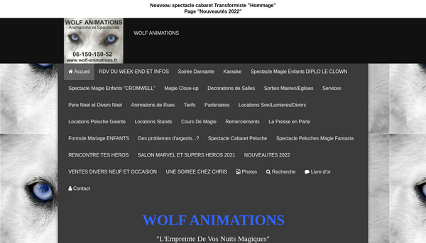 Wolf Animations