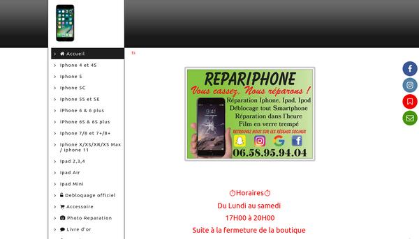 Repariphone ,Reparation iphone le havre