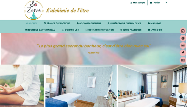Site officiel de SO ZENN