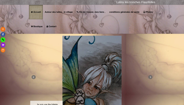 Site de lutins les tronches flaurifolles :elfes , fées ,lutins.