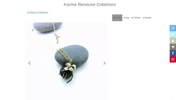 Karine RENEUVE - Création de Bijoux