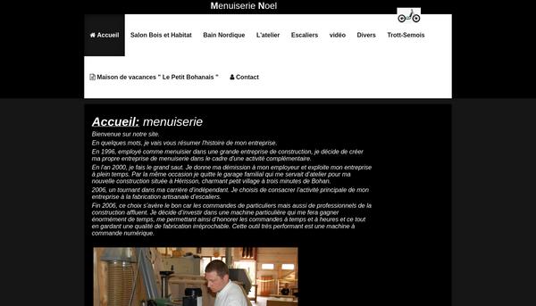 Site de www.menuiserie-noel.be