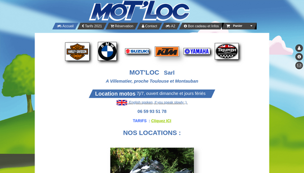 Site de motloc : CmonSite