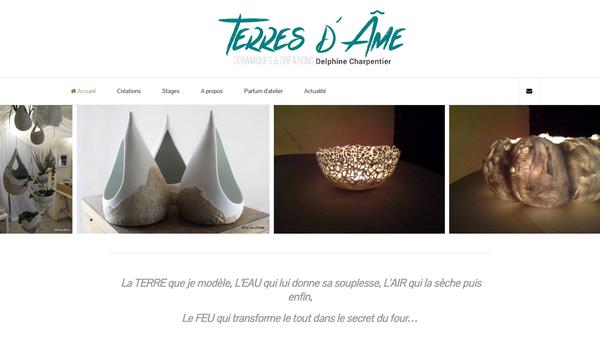 TERRES D'ÂME - Céramiques et Créations Delphine Charpentier