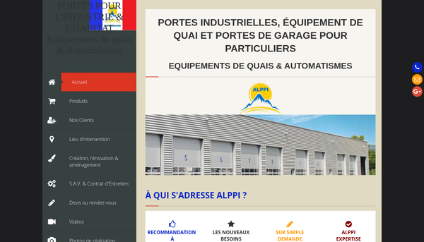 Site de alppi : CmonSite