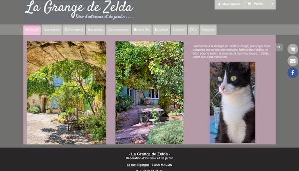 La Grange de Zelda : Boutique de décoration d'intérieur et de jardin