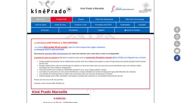 Kinésithérapeute à Marseille Prado