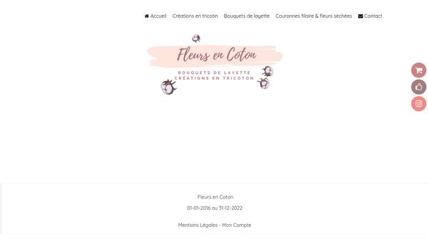Fleurs En Coton - Boutique créative de cadeaux