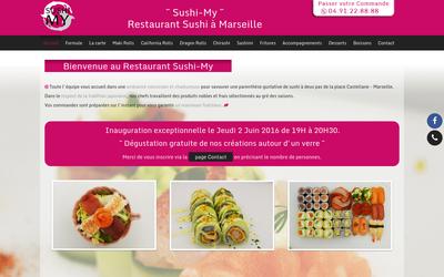 SushiMyory : Restaurant Sushi Marseille Castellane