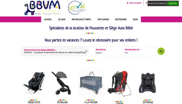 BBVM - Location de matériels pour enfants