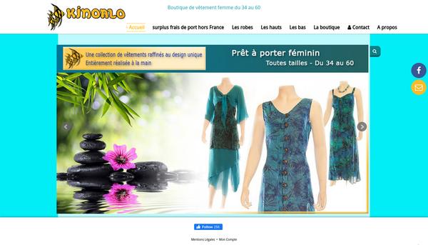 KINOALO : vêtements grandes tailles et Prêt à porter féminin