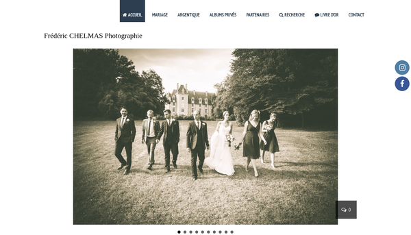 Frédéric CHELMAS Photographe de mariage puy de dome