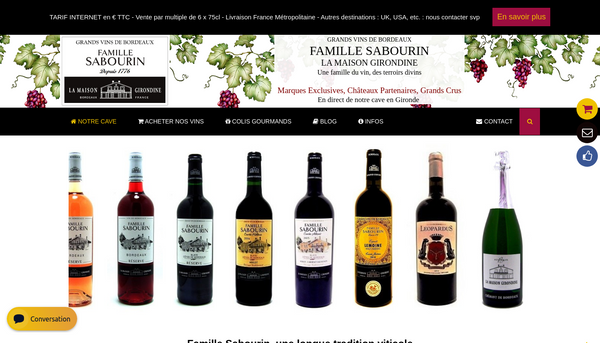 La Maison Girondine : vins et produits régiona