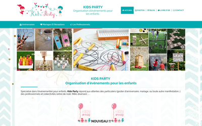 Site de kidsparty53 : CmonSite