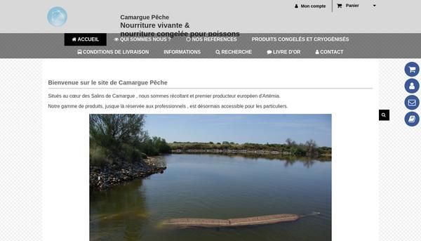 Camargue peche : nourriture pour poissons