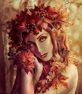 Fée d'automne