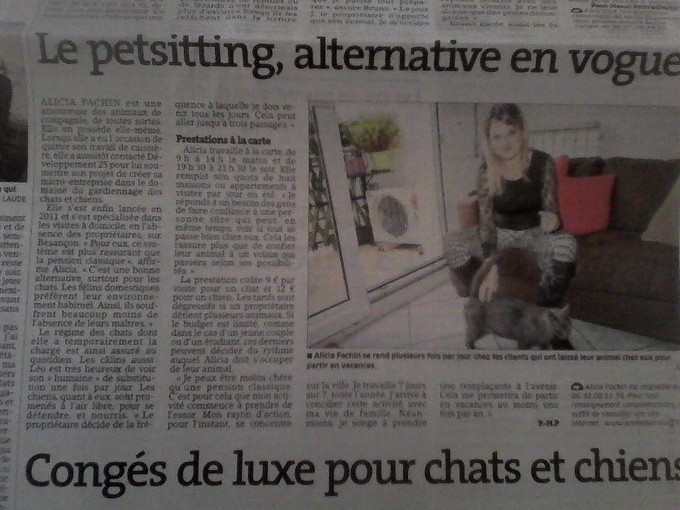 Dog sitter besancon