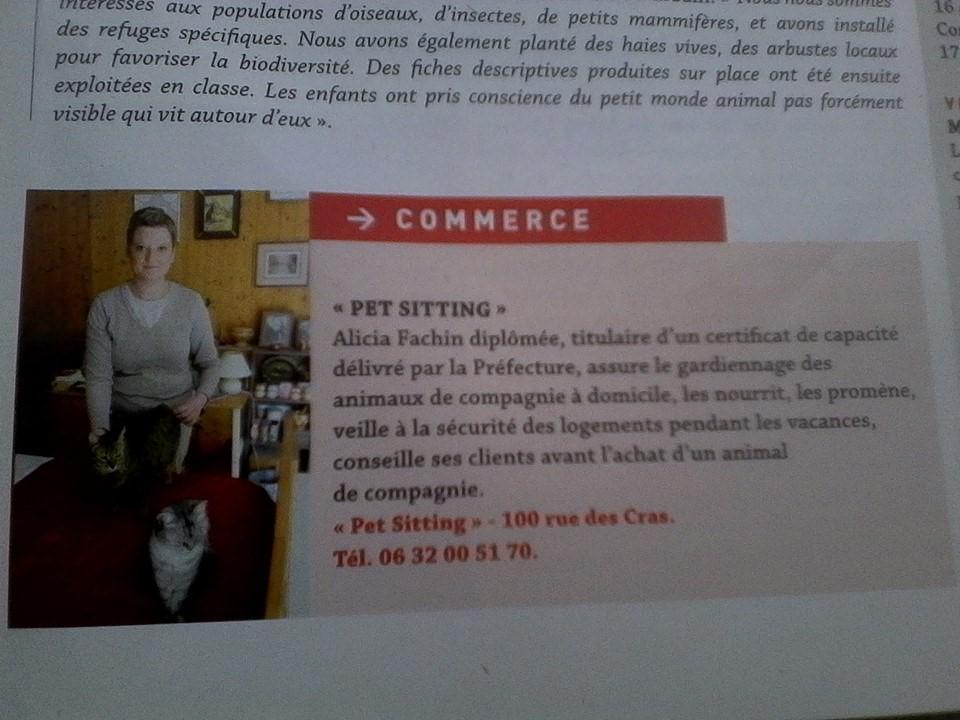 Pet sitting à Besançon Garde d'animaux à domicile pour chiens et chats