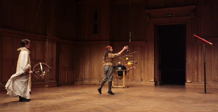La vie de Galilée - ébauche d'après Bertolt Brecht - CNSAD - 2011 - Aurélien Carbou et Thelma di Marco